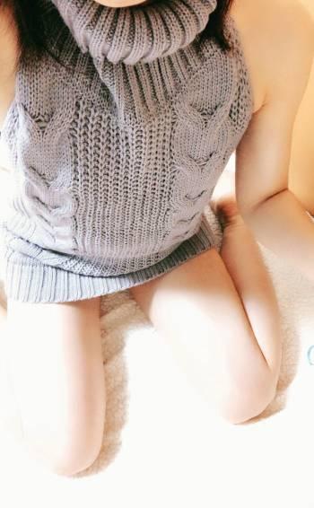 ニットワンピース👗(2020/02/20 12:40)吉瀬 蘭のブログ画像