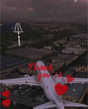 landing approach@ユミコ(2021/09/22 14:05)大橋 ユミコのブログ画像